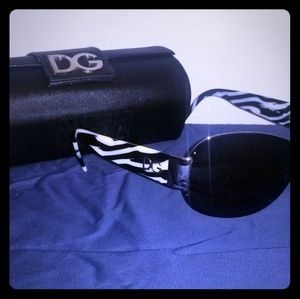 Authentic Dolce & Gabbana wraparound sunglasses